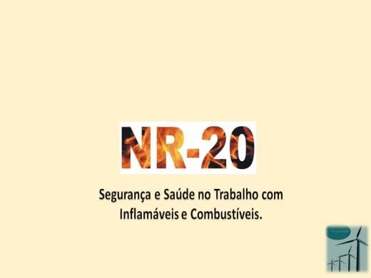 Curso Online de NR 20