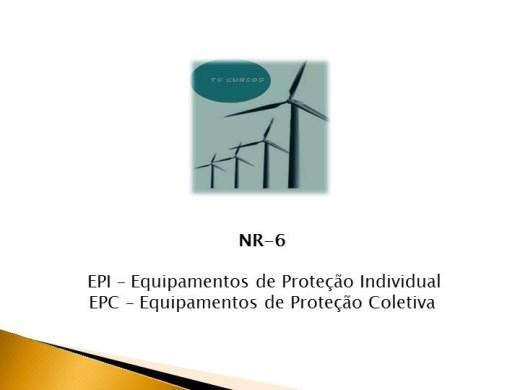 Curso Online de NR 06 uso de EPI/EPC