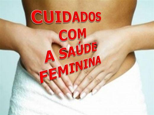 Curso Online de CUIDADOS COM A SAÚDE FEMININA