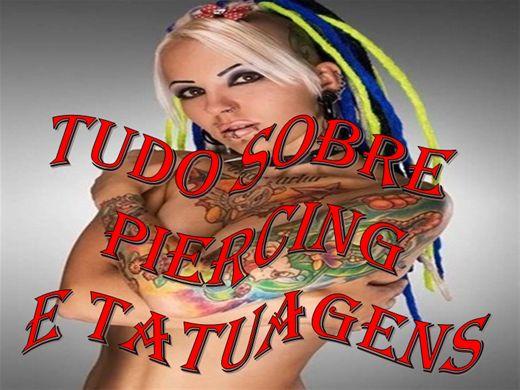 Curso Online de TUDO SOBRE PIERCING E TATUAGENS