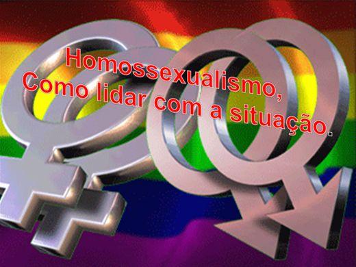 Curso Online de  HOMOSSEXUALISMO ,COMO LIDAR COM A SITUAÇÃO