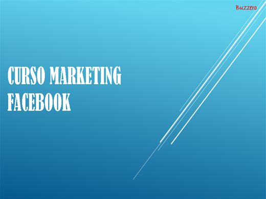 Curso Online de Marketing Facebook