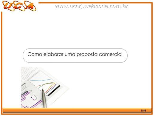 Curso Online de Como Elaborar uma Proposta Comercial