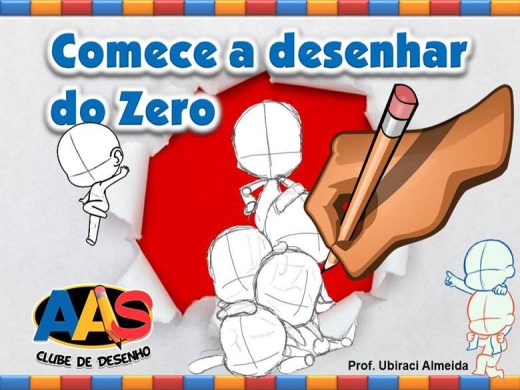 Curso Online de COMECE A DESENHAR DO ZERO