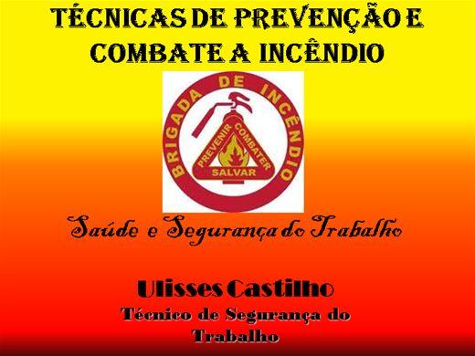 Curso Online de Técnicas de Prevenção e Combate a Incêndio