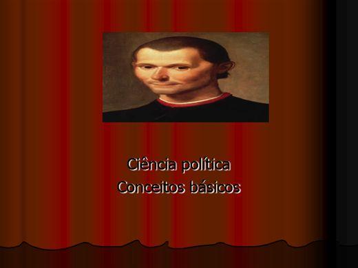Curso Online de ciência politica conceitos básicos