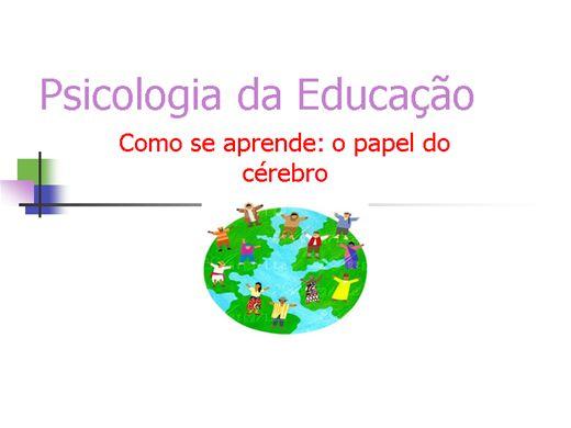Curso Online de PSICOLOGIA DA EDUCAÇÃO