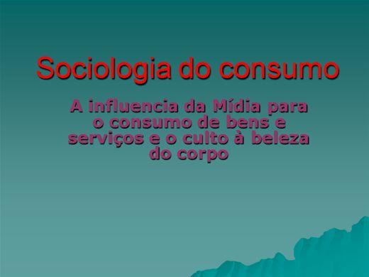 Curso Online de SOCIOLOGIA DO CONSUMO