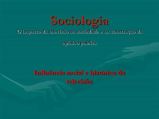 Curso Online de SOCIOLOGIA E O PODER DA MÍDIA