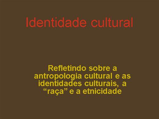 Curso Online de identidade cultural