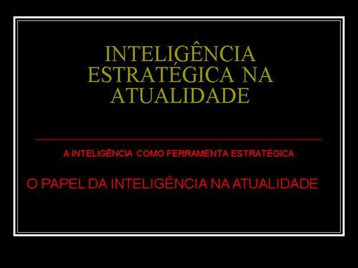 Curso Online de INTELIGÊNCIA ESTRATÉGICA  2
