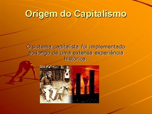 Curso Online de A ORIGEM DO CAPITALISMO