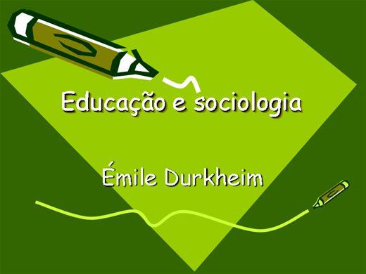 Curso Online de EDUCAÇÃO E SOCIOLOGIA