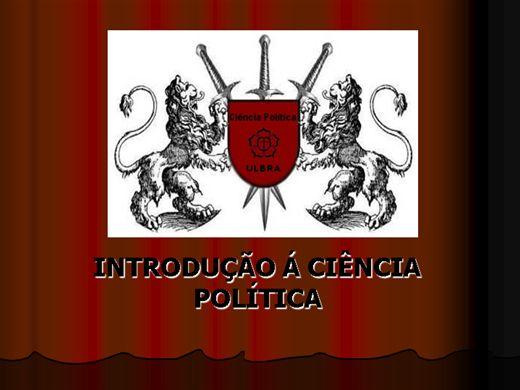 Curso Online de CIÊNCIA POLÍTICA