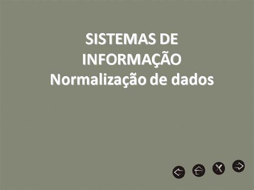 Curso Online de Normalização de dados