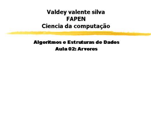 Curso Online de Algoritmos e Estruturas de Dados: Árvores