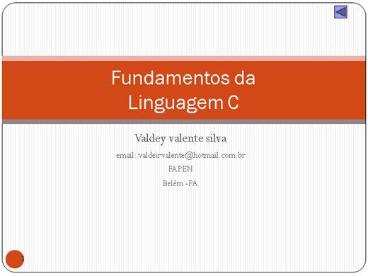 Curso Online de Fundamentos da Linguagem C