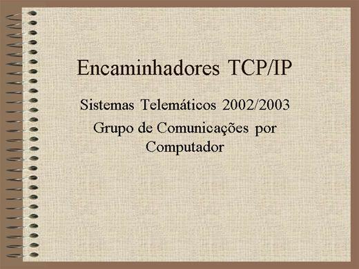Curso Online de Encaminhadores TCP/IP