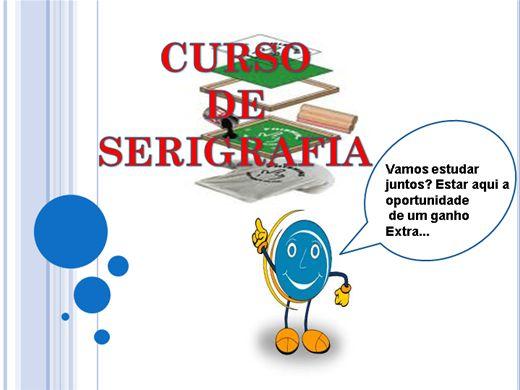 Curso Online de CURSO DE SERIGRAFIA
