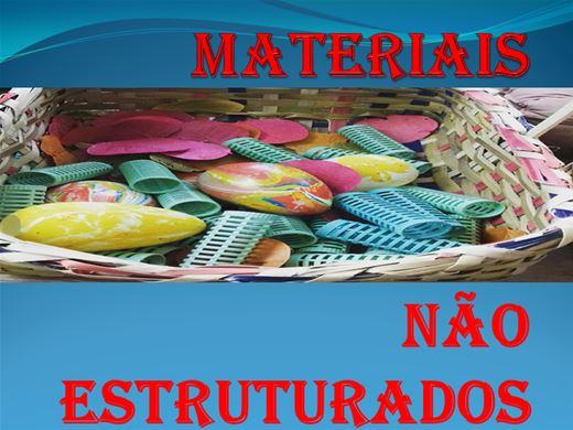 Curso Online de Materiais não estruturados