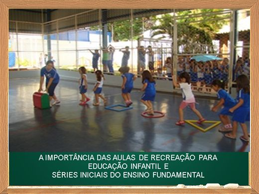 Curso Online de A importância das aulas de recreação na educação infantil e séries iniciais do ensino fundamental