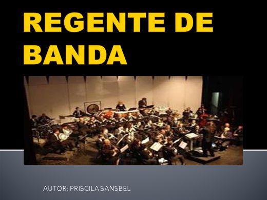 Curso Online de REGENTE DE BANDA
