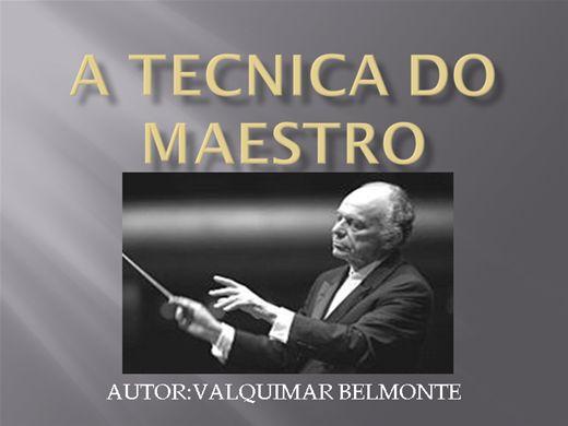 Curso Online de A TECNICA DO MAESTRO