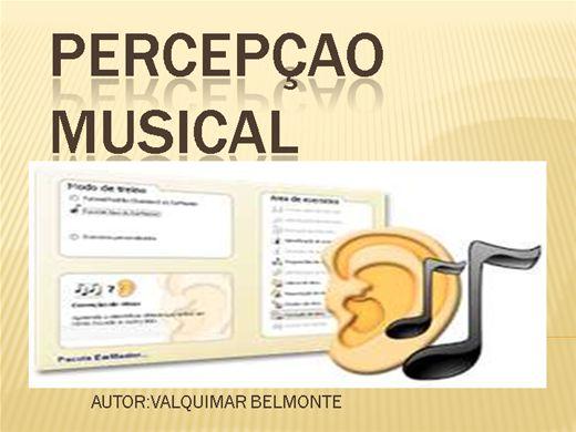 Curso Online de PERCEPÇAO MUSICAL