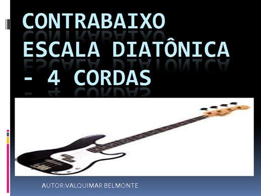 Curso Online de CONTRABAIXO ESCALA DIATONICAS