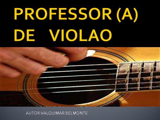 Curso Online de PROFESSOR DE VIOLAO