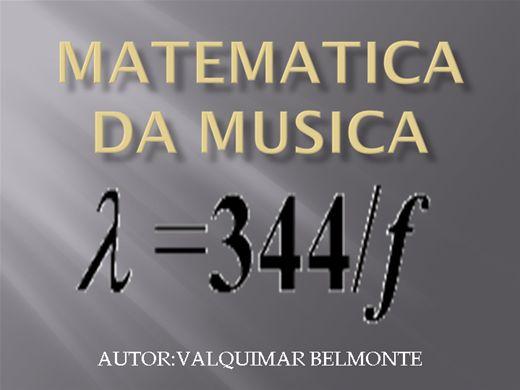 Curso Online de MATEMATICA DA MUSICA