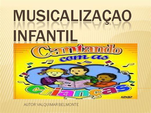 Curso Online de MUSICALIZAÇAO INFANTIL