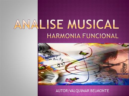 Curso Online de ANALISE MUSICAL
