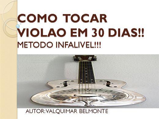 Curso Online de COMO TOCAR VIOLAO EM 30 DIAS!!
