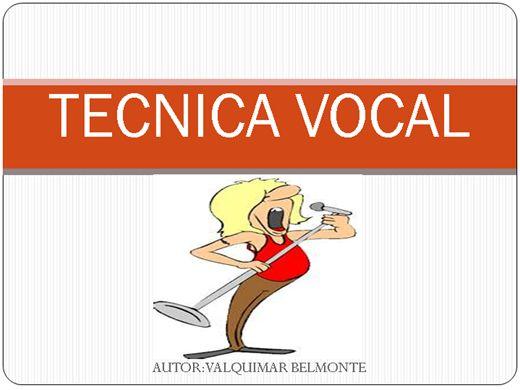 Curso Online de TECNICA VOCAL
