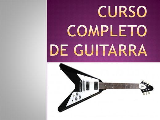 Curso Online de GUITARRA COMPLETA
