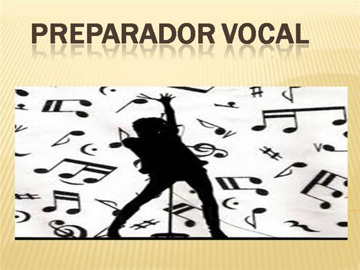 Curso Online de PREPARADOR VOCAL