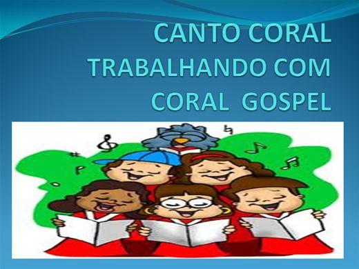 Curso Online de CANTO CORAL COSPEL