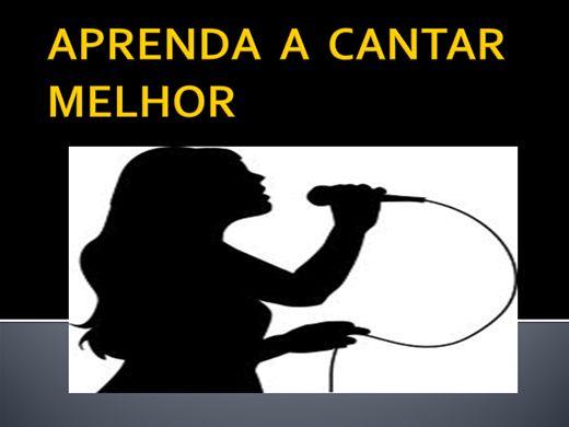 Curso Online de APRENDA A CANTAR MELHOR