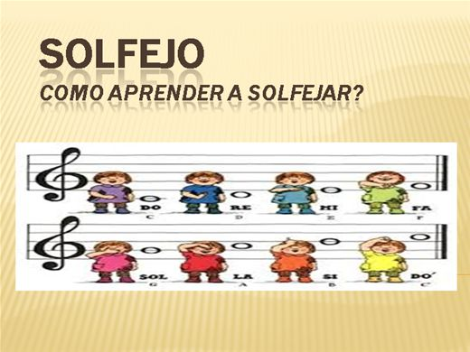 Curso Online de APRENDA SOLFEJO