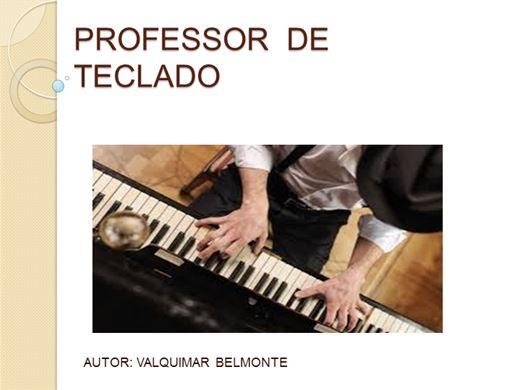 Curso Online de PROFESSOR DE TECLADO
