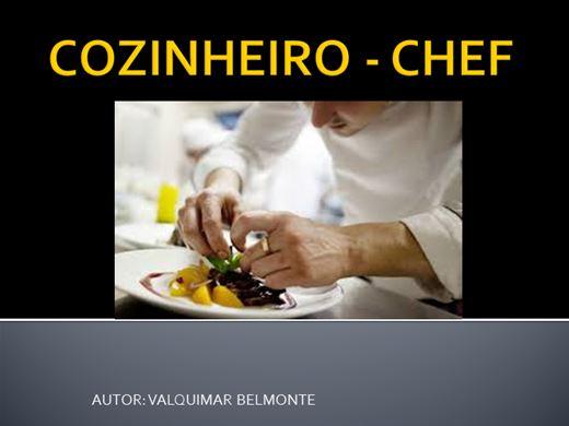 Curso Online de COZINHEIRO CHEF