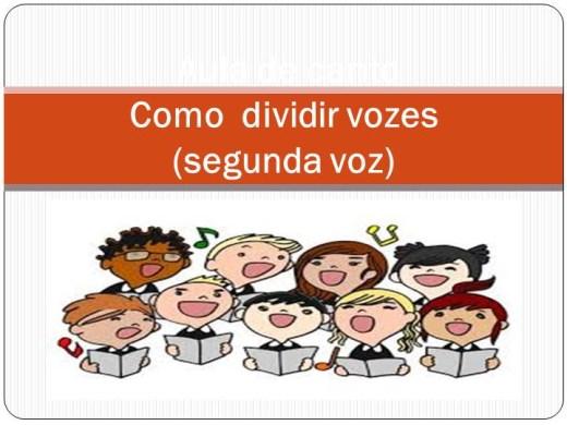Curso Online de Como fazer a segunda voz?