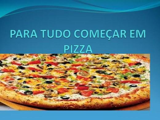 Curso Online de PARA TUDO COMEÇAR EM PIZZA