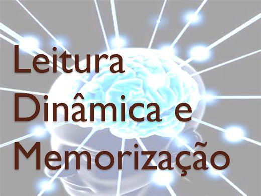 Curso Online de Leitura dinâmica e memorização