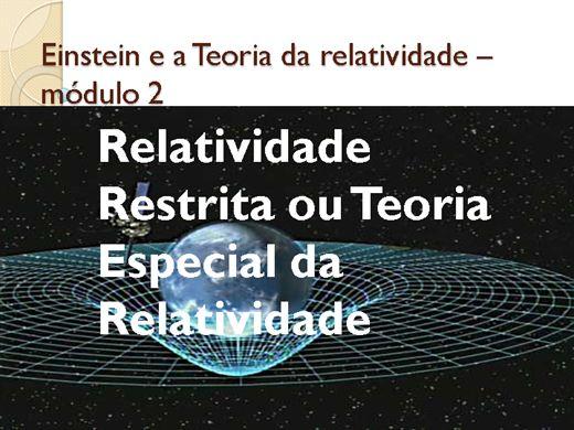 Curso Online de Einstein e a Teoria da relatividade ? módulo 2