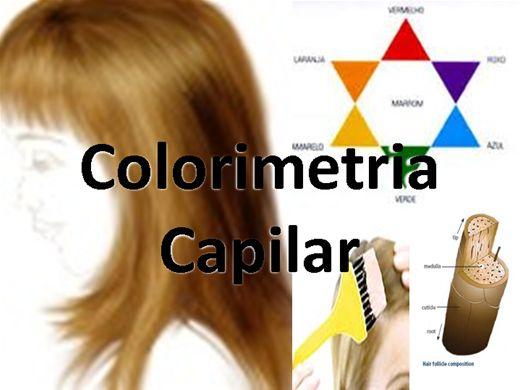 Curso Online de Colorimetria Capilar