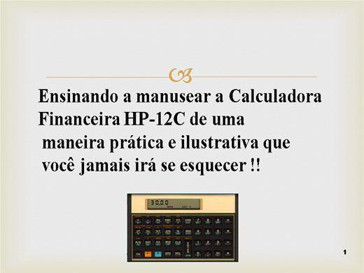 Curso Online de Trabalhando com a Calculadora HP 12C
