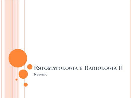Curso Online de Estomatologia e Radiologia