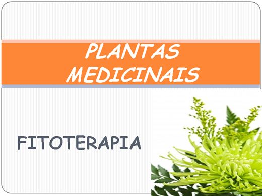 Curso Online de Fitoterapia - Plantas Medicinais